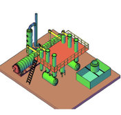 Special design pyrolysis equipment for tyres