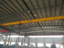 Overhead crane in our factory