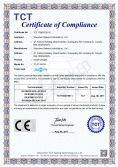 CE certification of QC charger TC-0118ZQ3