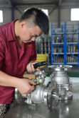Xindeli stainless steel valve material testing