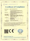 CE certificate for LED energy saving lamp