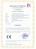KCT type split core current transformer get the CE LVD certificate
