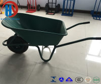 Painted Wheel Barrow