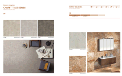 Carpet tile & rustic tile