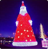 LED Santa Xmas Lights for Outdoor Holidaydecor SM-015