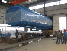Fuel Tank Container shipment loading