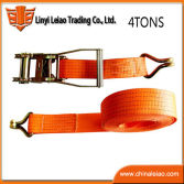 orange color polyester belts ratchet tie down