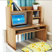 Modern Wooden Computer Desk on The Bed
