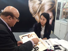 Kaijoe at Beautyworld Middle East,Dubai