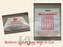 Bottom Gusset Bag With D-CUT