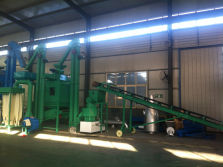 Wood Pellet Making Line ready for delivery