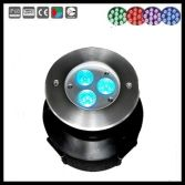 3x3w ip68 stainless steel led swimming pool light