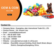 Experienced Pet Toy ODM & OEM Service Supplier