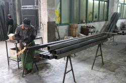 The welding workshop
