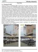 Industrial water chiller catalogue