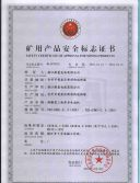 4. Safe Certificate Of Approval for Mining Product