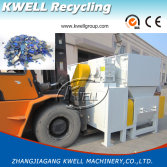 Kwell hard plastic shredder shipping