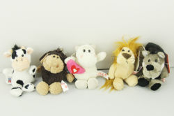 keyrings plush toy