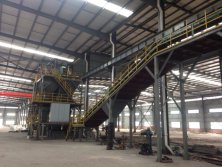 Clay sand production line for auto molding machine