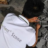 Cobblestone paving stone inspection