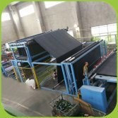 package machine for artificial grass roll