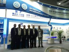 Colleagues in Fair of canton