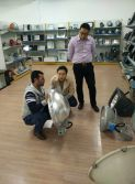 Customer visting our factory - 2