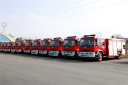 200 units isuzu fire truck exported to Cambodia