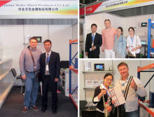 Hegerls attended Exhibition in Kazakstan