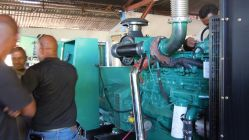 13pcs Total 4MW Cummins Genset installed in Africa Power Stations- 24 hours′ running