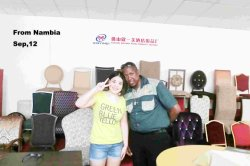 Nambia customer visit