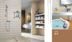 Una series - square shower set and basin faucet
