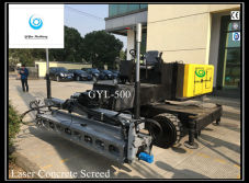 Ride on Hydraulic Laser Concrete Screed GYL-500