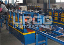 Beam automatic rolling production line.
