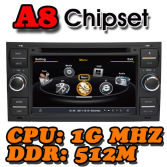 Witson A8 Chipset S100 platform Car DVD Player for FOCUS C-MAX FIESTA FUSION GALAXY TRANSIT KUGA