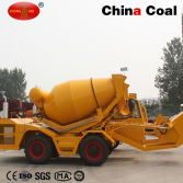 2.5 Cbm Self Loading Concrete Mixer Truck