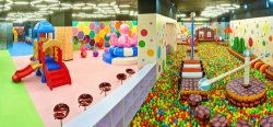 indoor playground park in Ukraine
