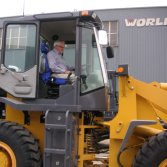 Customers Visiting-Wheel Loaders (Australia)