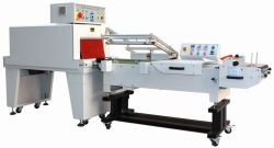 Semi auto L shrink wrap machine