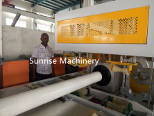 PVC Pipe Auto Belling Machine Testing