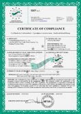 CE certificate for controller