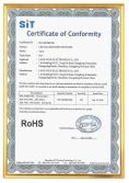 ROHS Certification of TL12 Series