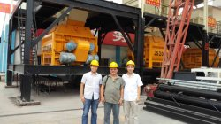 Indonesian Client Inspecting Our Machines