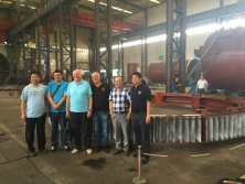 CIC′s manufacturing of the module 45 girth gear has been successfully accept by the KHD client