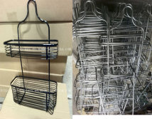 Regualre wire kitchen and bathroom hanging rack