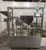 Automatic effervescent tablet tube filling machine