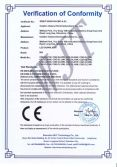 LED DOWNLIGHT CE-EMC certificates