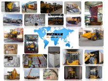 Wheel loader and spare parts AROUND THE WORLD