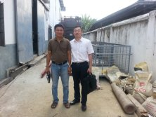 boiler service in Myanmar for 2ton