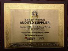 SGS certificated for our company